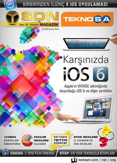 SDN Teknosa Magazin 23.sayı kapağı