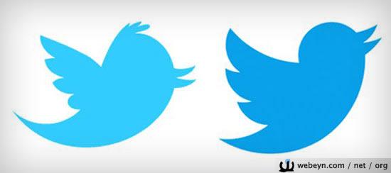 yeni - eski Twitter