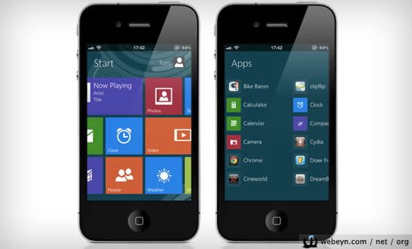 Windows 8 for iPhone