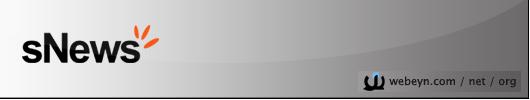 sNews banner
