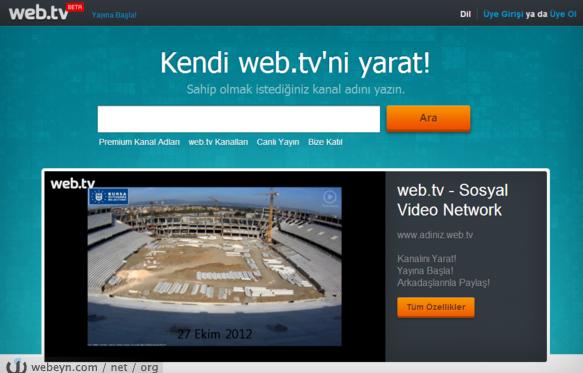 Web.TV - Ekran görüntüsü