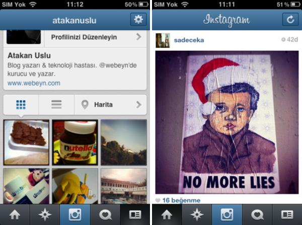 Instagram - 3.4 güncellemesi
