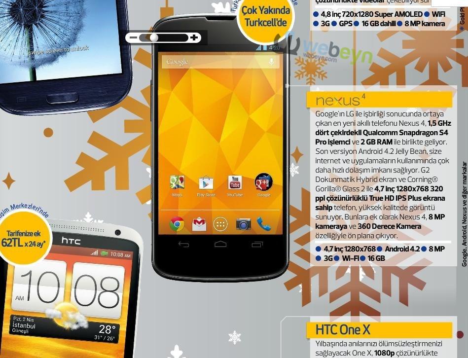 Nexus 4 - Turkcell