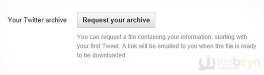 Twitter arşivi