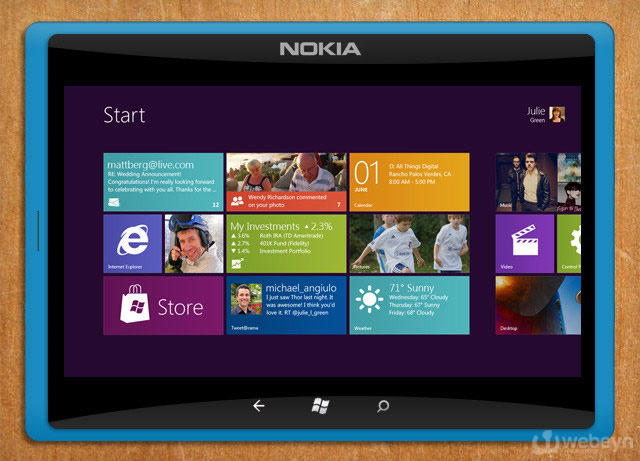 Nokia - Windows 8 tablet
