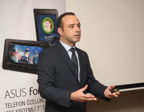 ASUS Sistem İş Grubu Türkiye Ülke Müdürü Bora Aras