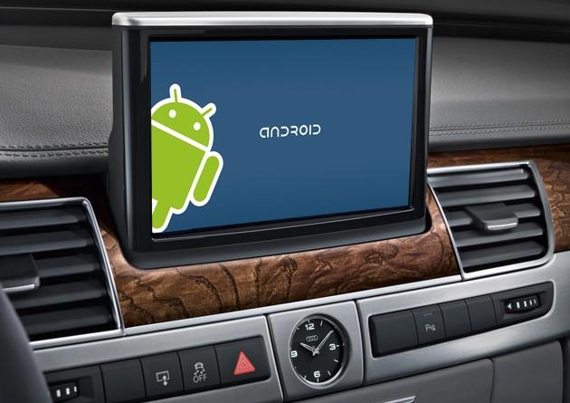 Arac ici Android webeyn Google, Audi İle Androidi Araçlara Taşıyor