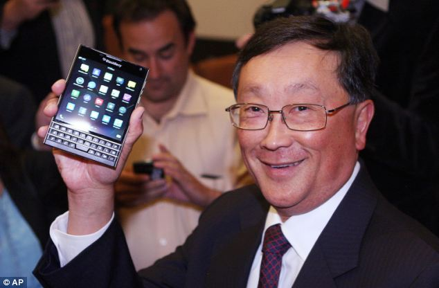 BlackBerry CEO'su John Chen