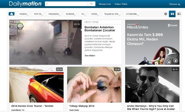 Dailymotion-TR-webeyn