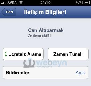Facebook-ucretsiz-arama-webeyn
