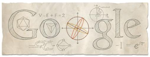 Leonhard-Euler-Google-logosu-webeyn