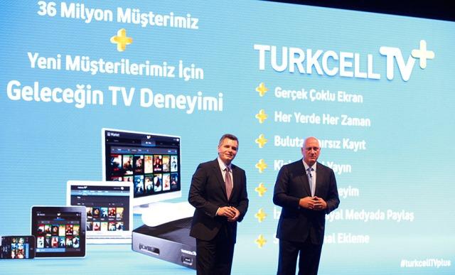 Turkcell Superonline Genel Müdürü Murat Erken - Turkcell Grup CEO'su Süreyya Ciliv