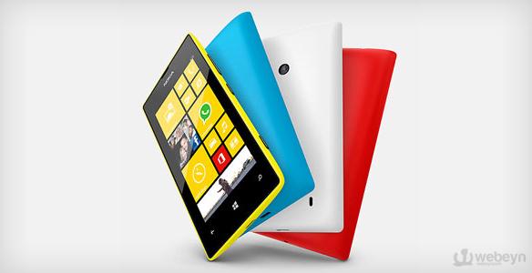 Nokia Lumia 520 webeyn Nokia Lumia 720 ve Lumia 520nin Türkiye Satış Fiyatı Belli Oldu