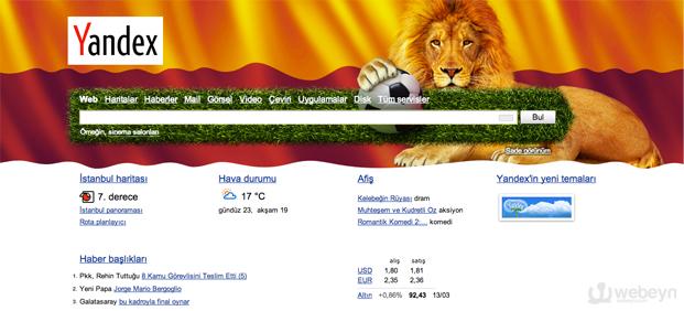 Yandex-Galatasaray-webeyn