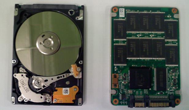 Mekanik disk ve SSD disk